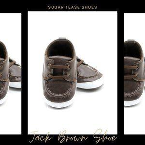 Jack Brown Baby Boys Shoes - Sugar Tease